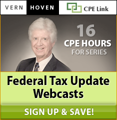 Federal Tax Updates